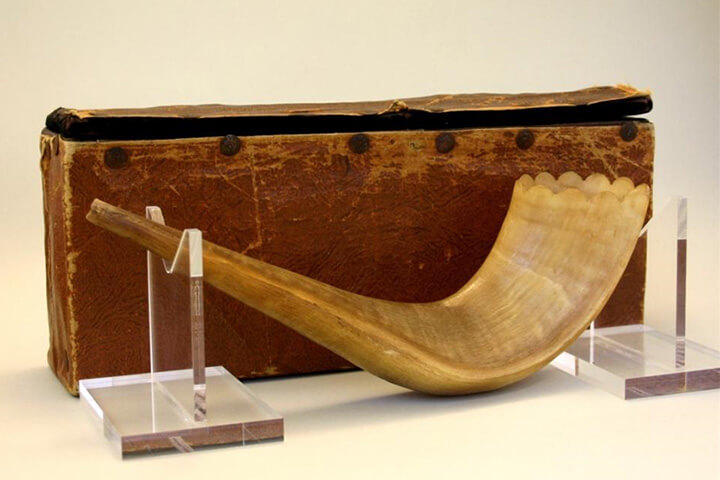 Shofar, Museum of Cardiff