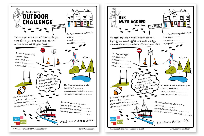 Detective Dewi's Outdoor Challenge